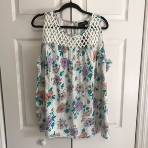 NWT Floral swing tank
